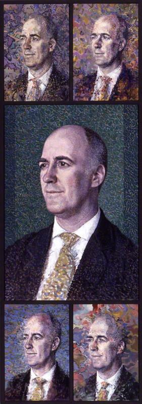 NPG 6648; Charles Robert Saumarez Smith by Tom Phillips