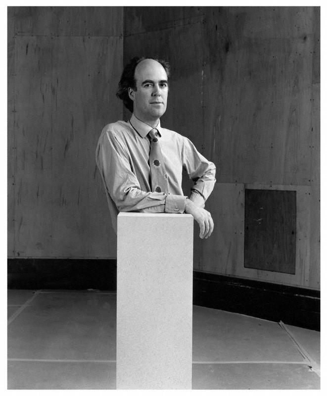 NPG x76911; Charles Robert Saumarez Smith by Paul Tozer