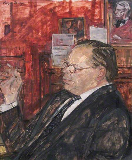Humphrey Brooke (1914–1988) by Olwyn Bowey. (c) The Royal Academy of Arts